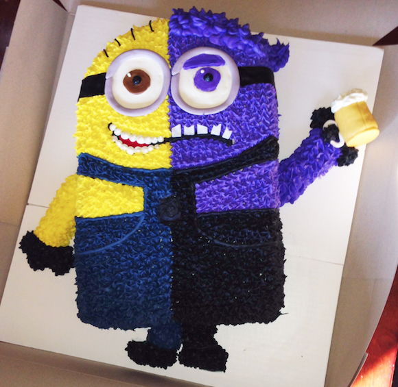 How To Make Purple Minion Cake Pops